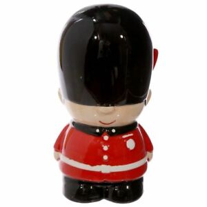 Novelty Ceramic Guardsman Money Box London Guard Piggy Bank Souvenir Christmas