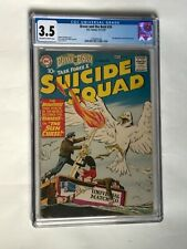 BRAVE AND THE BOLD 26 CGC 3.5 OFF WHITE TO WHITE PAGES 2ND APP SUICIDE SQUAD