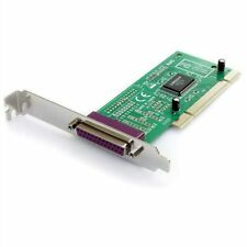 1 Port PCI Parallel DB25 25Pin IEEE 1284 Printer PCI Card Controller Adapter NEW