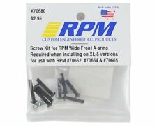 RPM RPM70680 Screw Kit for Wide Front A-Arms : Rustler / Stampede 2wd