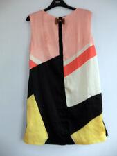 Gorgeous Black Abstract Print Shift Dress by Maia Hemera - Size Small - BNWT!!