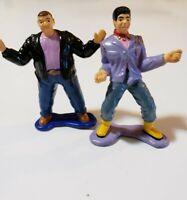Vintage Badai Power Rangers Bulk And Skull Mini Figures 1994