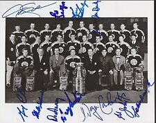 1970 Boston Bruin Stanley Cup Team Signed 8x10 Bailey Cheevers Sinden 11 Autos