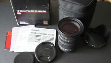 Sigma 18-50mm f/2.8 Canon EF Mount