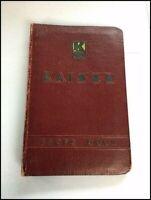 1949 Kaiser Automobile Vintage Dealer Fact Data Book Brochure Catalog