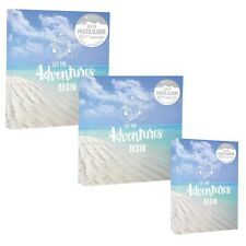 "Home Collection Travel Holiday Beach & Sun Slip In Photo Albums - 4x6"" or 5x7"""