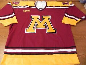 1990's U of MINNESOTA Gophers - Game Issued Jersey - Reggie BERG - AHL,ECHL, IHL