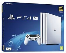 SONY WHITE PLAYSTATION PS4 PRO CONSOLE - 1TB 4K - NEW & SEALED - FREE UK POSTAGE