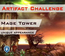 [EU] Mage Tower Artifact Challenge Weapon Appearance Magierturm Artefaktwaffen