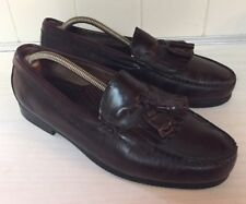 DEXTER USA Kilty tassel Loafers Mens 9 M Burgundy Cordovan Leather  Shoes