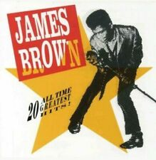 BROWN, JAMES - 20 ALL TIME GREATEST HITS! - CD - NEW
