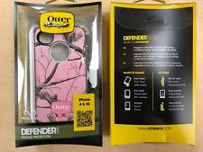 OtterBox Defender Series Case/Holster For Apple iPhone 4 4S Real Tree Camo Pink