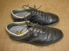 FOOTJOY DryJoys Tour Black Men Golf Shoes size 8.5 M