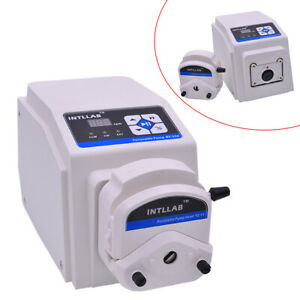 Industrial Chemicals Dosing Peristaltic Pump AC90-260V, Food-Grade Silicone Tube