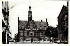 """Purmerend Niederlande Holland ~1960 Citroen """"Ente"""" Strassen Partie vor Rathaus"""