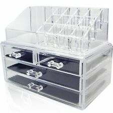 Unique Home Makeup Cosmetic Organizer Conceal/Lipstick/Eyeshadow/Brushes in