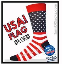 Men's USA Flag Socks