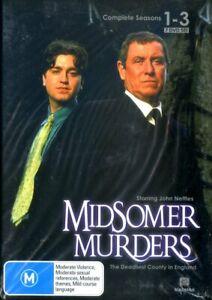 Midsomer Murders: Season 1-3 (DVD) - Region 0 - Brand New