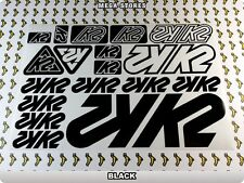 K2 BIKES Stickers Decals  Bicycles Bikes Cycles Frames Fork Mountain MTB BMX 55E