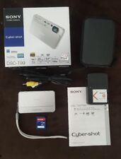 Sony Cyber-Shot DSC-T99 14.1MP Digital Camera ~ with case, box, etc ~ Free Ship