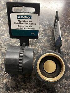 "Melnor Brass Female Connector For Garden Hoses 5"" Brass"