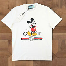 GUCCI T SHIRT CREW NECK MICKEY MOUSE WOMEN BRAND NEW SIZE M GENUINE