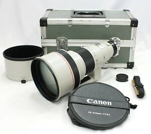 [Excellent Canon New FD NFD 400mm F/2.8 L MF Telephoto Lens from Japan