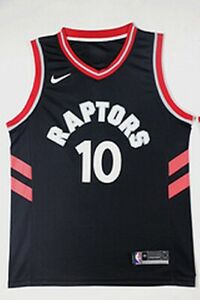 NEW DeMar DeRozan #10 Toronto Raptors Black Swingman Jersey Men