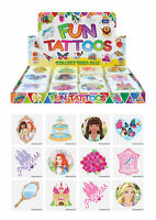 72 Princess Temporary Tattoos (6 Bags Of 12) - Pinata Loot/Party Bag Fillers Kid