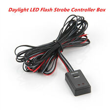 Car Auto LED Flash Strobe Controller Box Flasher Module 2Ways 12V / 24V Daylight