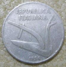 moneta da 10 lire del 1954