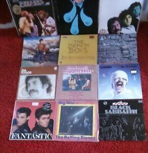 41 LP Schallplatten Rock/Pop Sammlung Black Sabbath Marillion R.Stones Scorpions