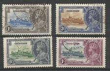 GOLD COAST THE 1935 GV SILVER JUBILEE SET FINE USED  CAT.£70