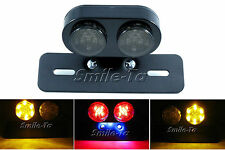 Motorcycle Quality LED Tail Light Integrated Indicators Café Racer Project Bike