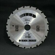 3 pack 180mm  TCT Circular Saw Blades to suit Black /& Decker P3703 KS865