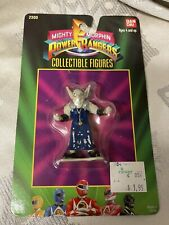 """Vintage NOS Mighty Morphin Power Rangers 3"""" Figures Finster Bandai 1993"""