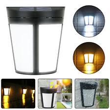 Solar 6 LED Wall Mount Night Light Outdoor Dusk to Dawn Garden Yard Sensor Lamp