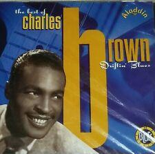 CHARLES BROWN SEALED CD DRIFTIN BLUES ALADDIN RECORD SOUL EMI 1992 PIANO TEXAS