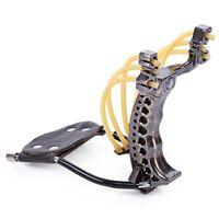 Fronde-lance-pierre-Catapult slingshot-plein air loisir-fronde-acier/bousole