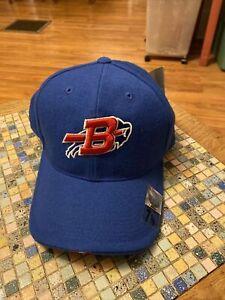 Buffalo Bills Fitted Hat Size 7 1/8, Nike Team, Blue, 100% Wool