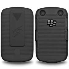 AMZER HARD SHELL CASE + BELT CLIP HOLSTER FOR BLACKBERRY CURVE 9220