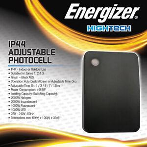 Energizer Photocell Photo Cell Outdoor Dusk till Dawn Sensor Switch Lighting