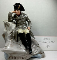 Napoleon Bonaparte SCHEIBE ALSBACH PORCELAIN FIGURINE So Deep In Thought! GDR