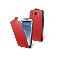 Case Cover Genuine Leather Eco Friendly Moxie Samsung Galaxy S3 i9300 Red