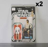 2 x Protective Figure Case For Star Wars 3 3/4 Inch MOC Action Figures