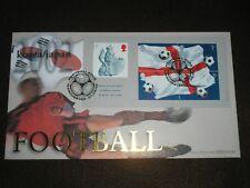 2002 GB Stamps FOOTBALL JAPAN / KOREA BENHAM FDC MANCHESTER Cancels BLCS229
