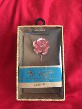 Penguin By Muningwear Lapel Pin Floral Rose