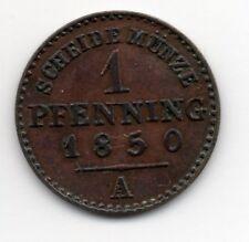 Germany - Preussen / Prussia - 1 Pfennig 1850 A