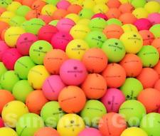 24 AAA Wilson Staff DUO Soft Optix Assorted Color Matte Used Golf Balls