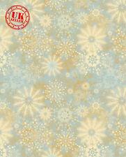 Natale BIANCO BLU Snow Flake Baby Fondale Vinile Foto di scena 5X7FT 150x220CM